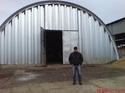 Строим бескаркасные склады от 500грн.м2