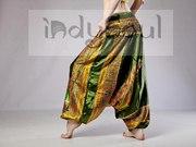 Индийские штаны алладины с мотней розница и опт
