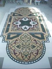 Мраморная мозаика,  панно из мрамора