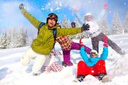 Веселый Новый год 2015 в Карпатах с друзьями