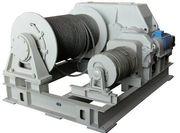Лебедка электрическая маневровая двухбарабанная ЛЭМ-10
