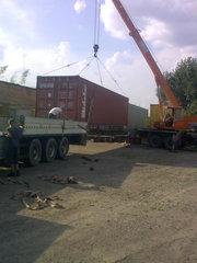 Контейнери 20,  40 тон.