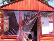 М'які,  прозорі штори,  вікна,  завіси з ПВХ тканини