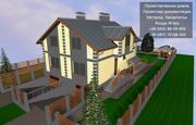 Створення проектів житлових будинків. Індивідуальний підхід. Ужгород.