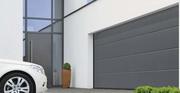 Рулонні гаражні ворота.