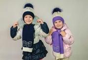 Дитячі шапки для дівчинки