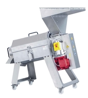 Протирочная машина для вишен,  слив,  абрикос,  яблок 1000 кг/час